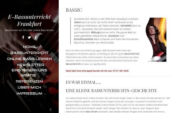 Vorschau von www.bassunterricht-frankfurt.de, Heck, Bernhard