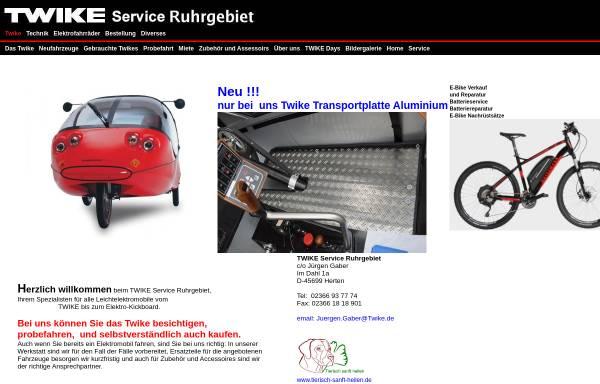 Vorschau von www.twike-center-ruhrgebiet.de, TWIKE Center Ruhrgebiet