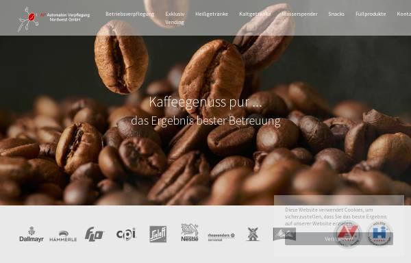 Vorschau von www.ap-nordwest.de, AP Automaten-Verpflegung Nordwest GmbH