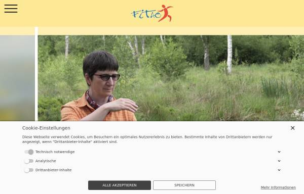 Vorschau von www.fitao.de, Fitao - Gesundheitsberatung