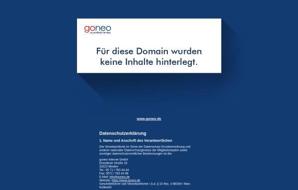 Vorschau von www.kramlowsky.de, Sanitär- und Heizungsbau Kramlowsky