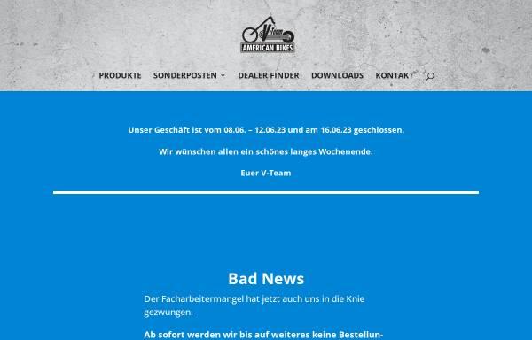 Vorschau von www.v-team.de, V-Team American Bikes
