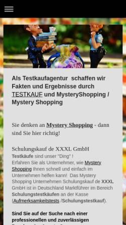 Vorschau der mobilen Webseite www.schulungskauf.de, Schulungskauf.de XXXL GmbH