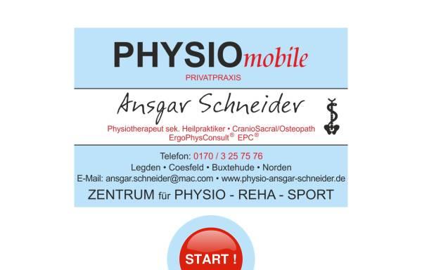 Vorschau von www.physio-ansgar-schneider.de, Physiotherapie- und Gesundheitspaxis Ansgar Schneider