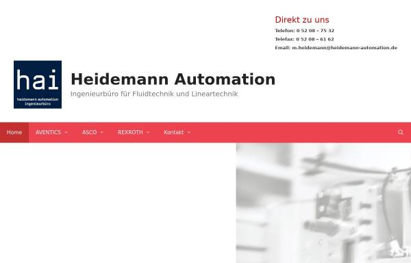 Vorschau von www.heidemann-pneumatik.de, Markus Heidemann