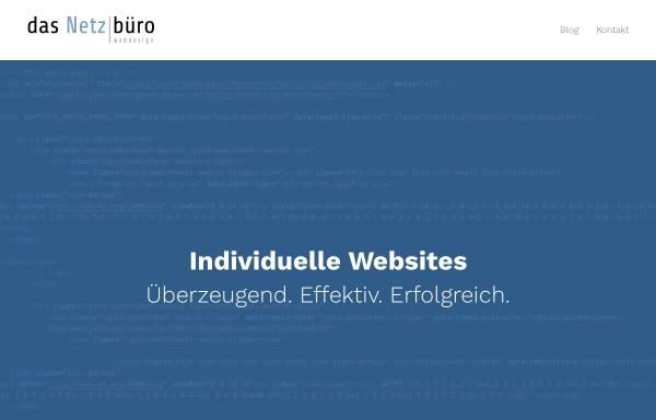 Vorschau von www.netzbuero.de, Das Netzbüro, Inh. Lars Brinkmann