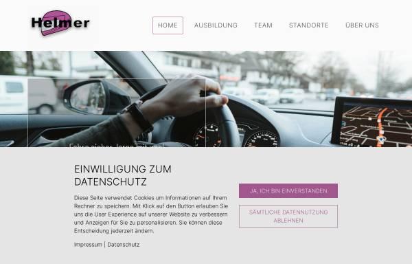 Vorschau von www.fahrschule-helmer.de, Fahrschule Helmer