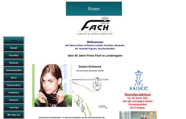 Vorschau von www.geschenke-fach.de, Christian Fach, Uhrmachermeister
