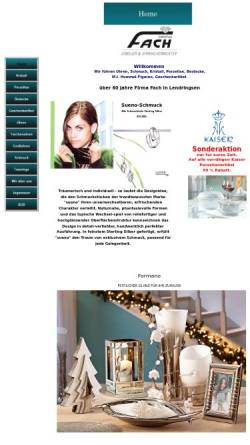 Vorschau der mobilen Webseite www.geschenke-fach.de, Christian Fach, Uhrmachermeister
