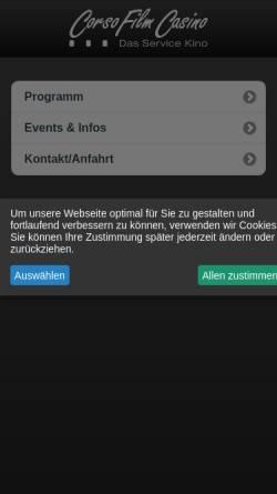 Vorschau der mobilen Webseite www.nkk-online.de, Nettetaler Komfort Kinos in Lobberich und Kaldenkirchen