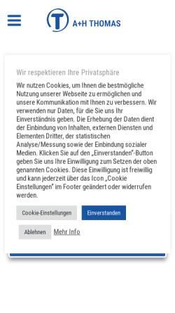 cdc11ea4083a38 A+H Thomas GmbH + Co KG  Wirtschaftsdienste   Wirtschaft schilder ...