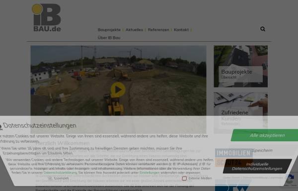 Bauunternehmen Ochtrup ib wohnungs und gewerbebau gmbh wirtschaft ochtrup ib bau de