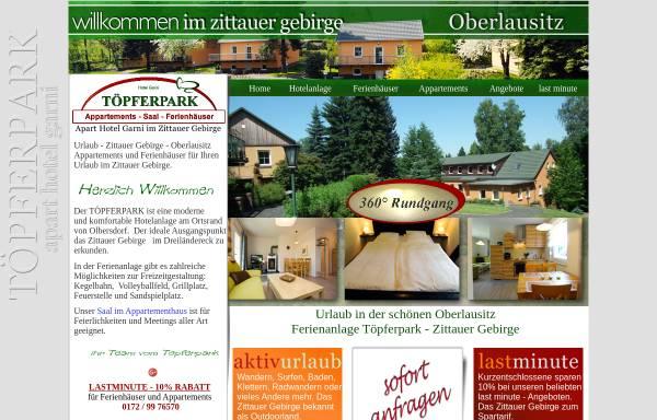 Vorschau von www.toepferpark.de, Töpferpark