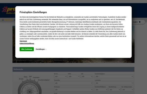 Vorschau von www.reifen-pagenkemper.de, Reifen-Pagenkemper