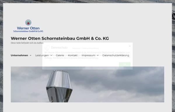 Vorschau von www.w-otten.de, Werner Otten Schornsteinbau