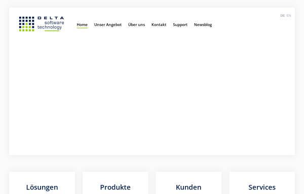 Vorschau von www.d-s-t-g.com, Delta Software Technology GmbH