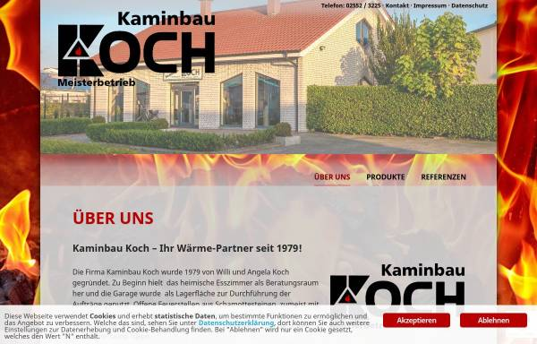 Vorschau von www.kaminbau-koch.de, Kaminbau Koch