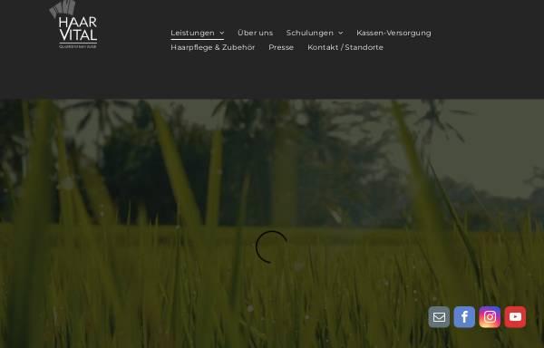 Vorschau von www.haarvital.de, Haar Vital GmbH