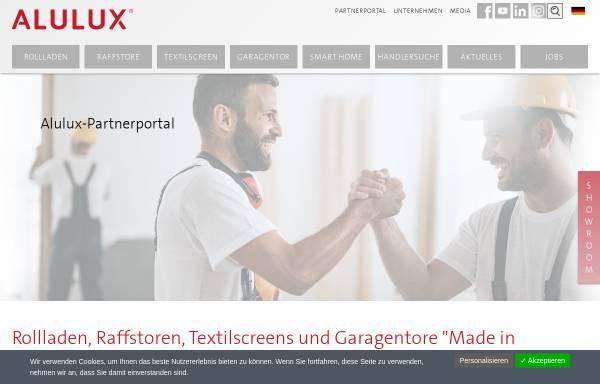 Vorschau von www.alulux.de, Alulux Beckhoff GmbH & Co. KG