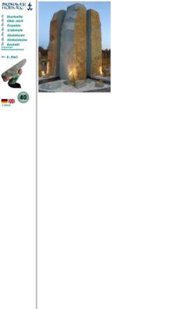 Vorschau der mobilen Webseite www.hoburg.de, Bildhauer Hoburg, Werkstatt Verl