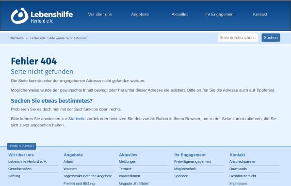 Vorschau von www.lebenshilfe-herford.de, Metallservice Vlotho gGmbH