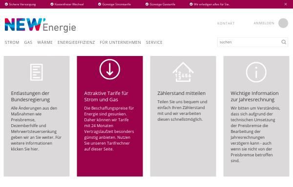 Vorschau von www.niederrheinwerke.de, Niederrheinwerke Viersen GmbH