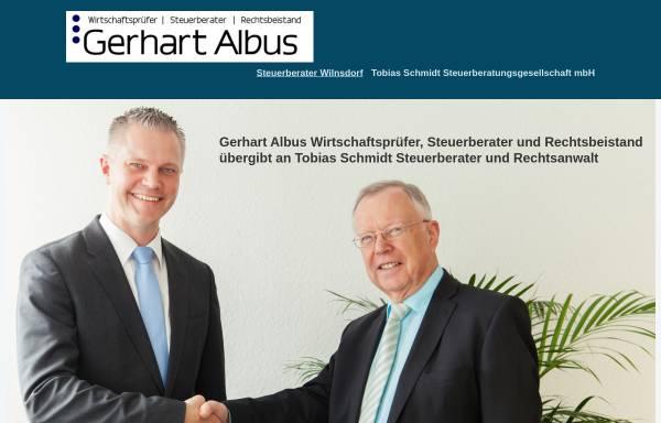 Vorschau von www.gerhart-albus.de, Gerhart Albus - Steuerberater - Wirtschaftsprüfer - Rechtsbeistand