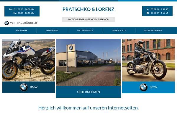 Vorschau von www.pratschko-lorenz.de, Pratschko & Lorenz GmbH