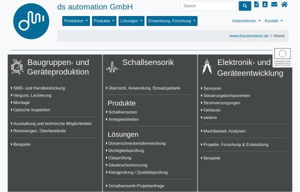 Vorschau von www.dsautomation.de, D&S Automation GmbH