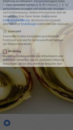 Vorschau der mobilen Webseite www.hansbode.de, Hans Bode Innovative Büroelektronik GmbH
