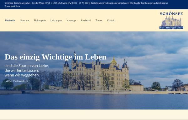 Schönsee Schwerin