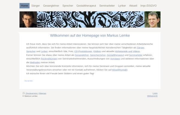 Vorschau von markuslemke.de, Lemke, Markus
