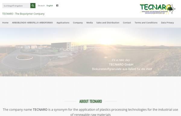 Vorschau von www.tecnaro.de, TECNARO GmbH