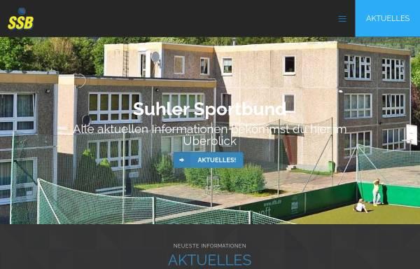 Vorschau von www.suhler-sportbund.com, Suhler Sportbund e. V.