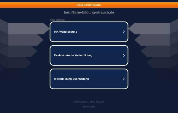 Vorschau von www.berufliche-bildung-strauch.de, Berufliche Bildung Strauch
