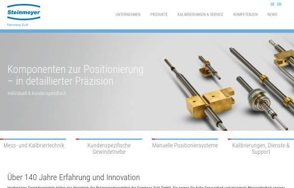 Vorschau von feinmess-suhl.com, Feinmess Suhl GmbH