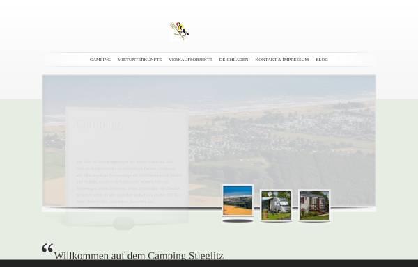 Vorschau von www.camping-stieglitz.de, Camping Stieglitz
