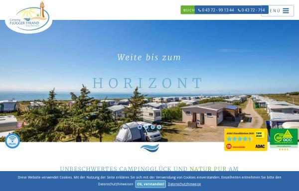 Vorschau von www.fluegger-strand.de, Camping Flügger Strand