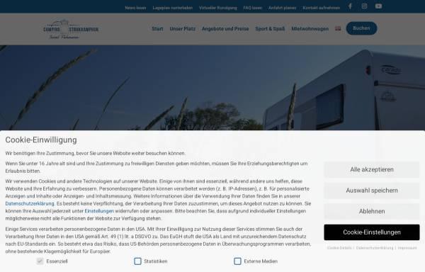 Vorschau von www.strukkamphuk.de, Campingplatz Strukkamphuk