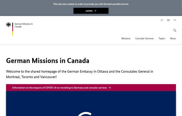Vorschau von www.kanada.diplo.de, Kanada, deutsches Generalkonsulat in Montreal