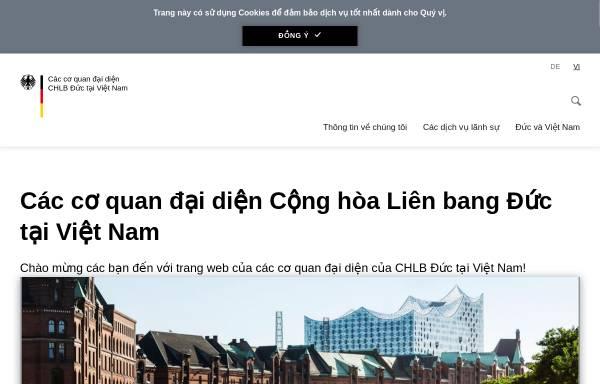 Vorschau von www.hanoi.diplo.de, Vietnam, deutsche Botschaft in Hanoi