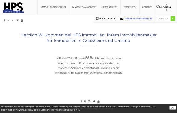 Makler Crailsheim hps immobilien wirtschaft crailsheim hps immobilien de