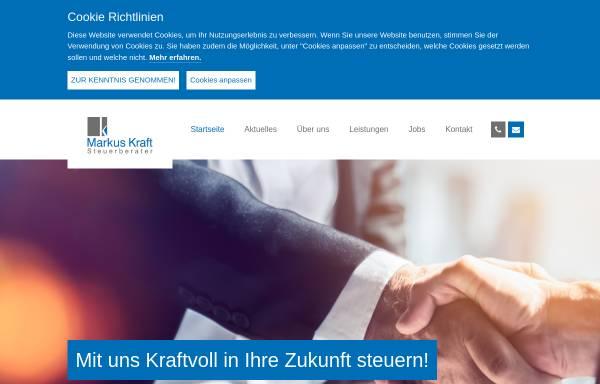 Vorschau von www.steuerberater-kraft.de, Steuerberater Günther Kraft