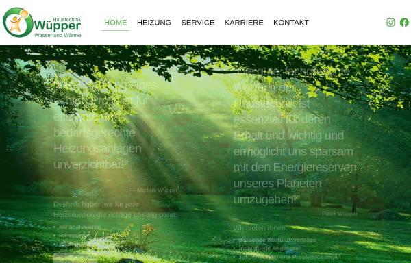 Vorschau von www.wuepper-haustechnik.de, Wüpper Energie und Haustechnik GmbH