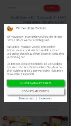 Vorschau der mobilen Webseite www.cusanus-apotheke.de, Cusanus-Apotheke