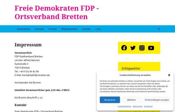 Vorschau von fdp-bretten.de, FDP Bretten