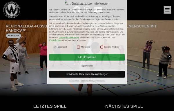 Vorschau von fussball.sv-wacker.de, SV Wacker Burghausen