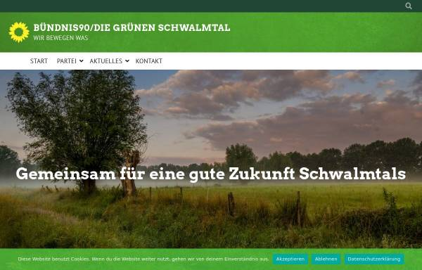 Vorschau von www.gruene-schwalmtal.de, Bündnis 90/Die Grünen Nettetal