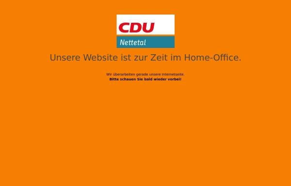 Vorschau von www.cdu-nettetal.de, CDU Nettetal