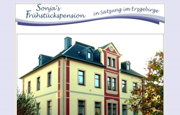 Vorschau von www.pension-sonja-im-erzgebirge.de, Frühstückspension Sonja Dauer